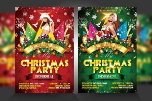Christmas / xmas flyer