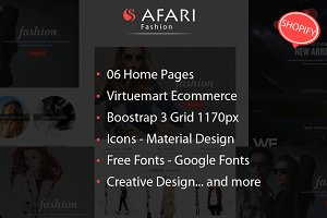 Safari Multipurpose Shopify