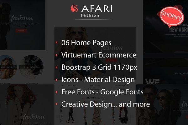 Safari Multipurpose Shopify