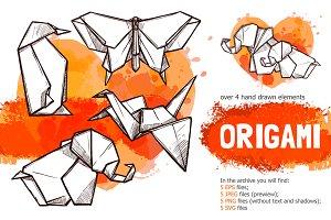 Origami Sketch Set