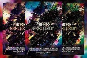 Dark Explosion Flyer