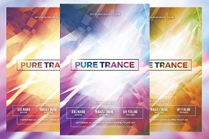 Pure Trance Flyer