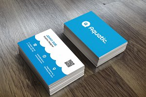 Aquatic Business Card Template