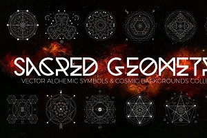 Vector Sacred Geometry Set