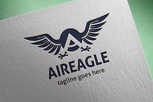 Aireagle (Letter A) Logo