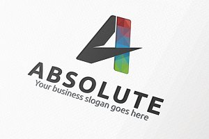Absolute Letter A Logo
