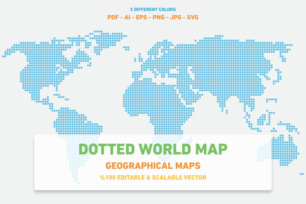 Dotted world map web elements creative market gumiabroncs Image collections