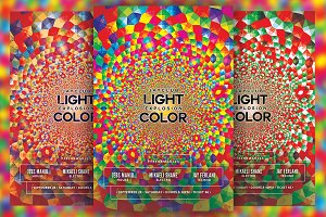 Light Explosion Color Flyer