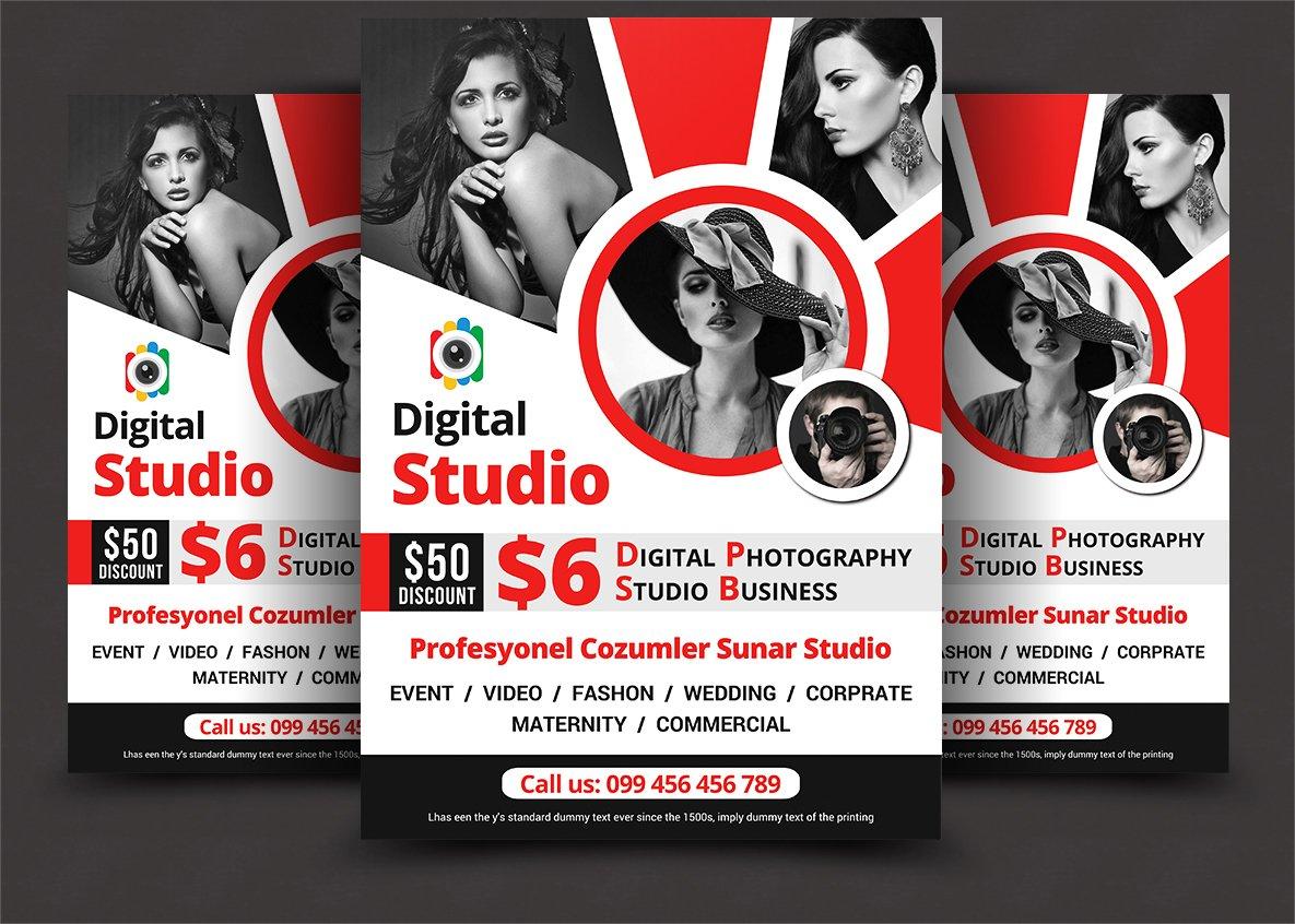 Photography Studio Flyer Templates Flyer Templates
