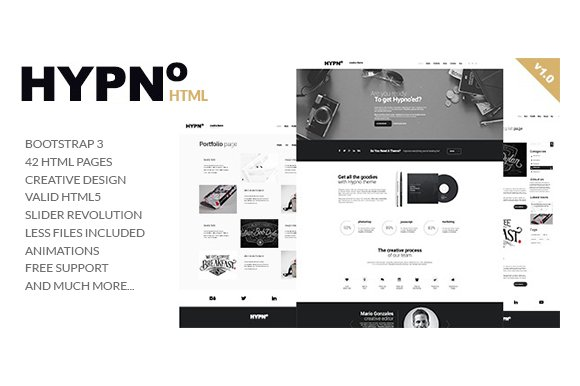 HYPNO Multipurpose HTML Template