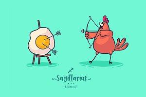 Sagittarius (Zodiac set)