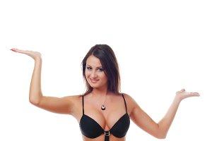 woman in bright swimwear
