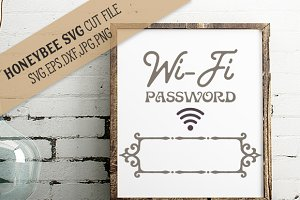 Wi Fi Password SVG