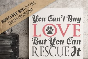 You can't buy love rescue
