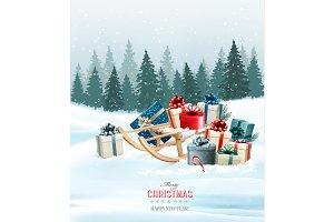 Holiday Christmas greeting card