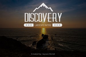 Discovery vol 1 - Lightroom Presets