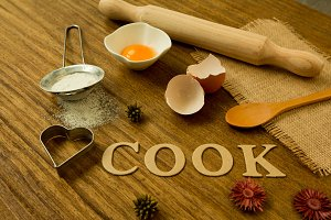 Ingredients for cook