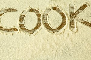 Cook with flour