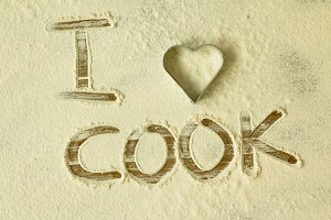 I love cook