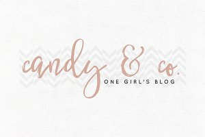 Candy & Co. Premade Logo Template