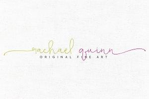Rachael Quinn Premade Logo Template