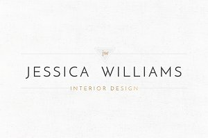 Jessica Williams Logo Template