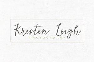 Kristen Leigh Premade Logo Template
