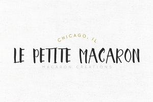 Le Petite Macaron Logo Template