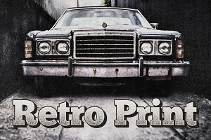 Retro Print