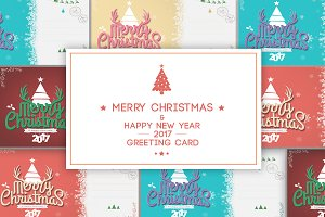 Greeting Card-Christmas and New Year