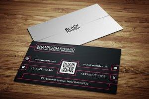 Black Mamba Corporate Business Card