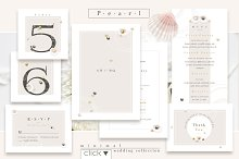 Pearl-minimal wedding collection