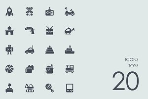 Toys icons