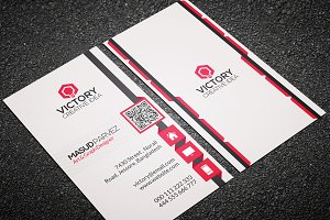 Max Corporate Business Card
