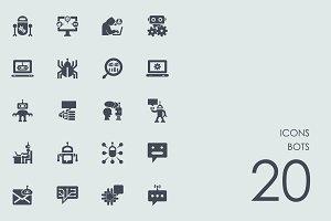 Bots icons