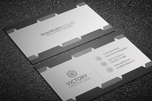 Gray New Business card