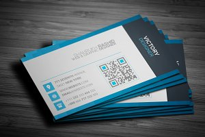 Slim Corporate Business Card