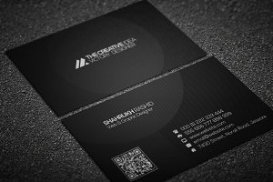 The Dark Corporate Business Card