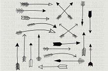 Hand Draw Arrow ClipArt