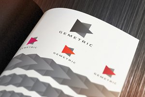 Play Gemetric Logo for Design Agency