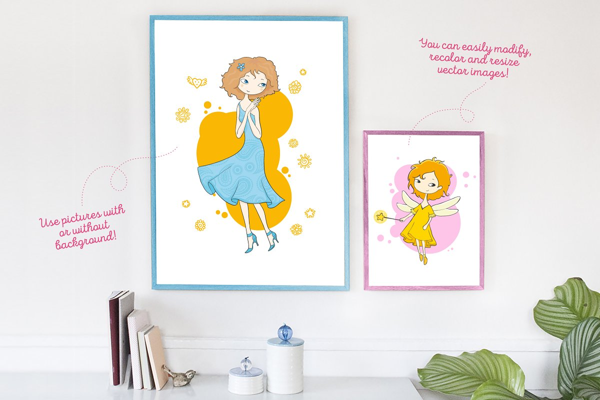 Kids and Families vector art in Illustrations - product preview 4
