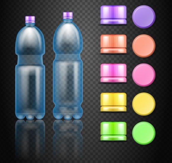 Empty Plastic Bottles With Caps