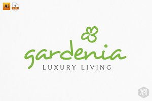 Gardenia Logo Template