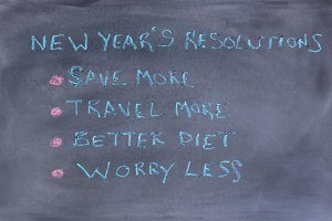 New Year Resolutions to better life