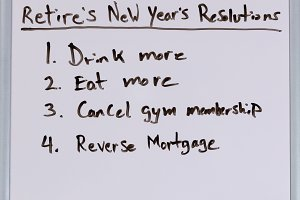 Retired New Year Resolutions