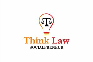 Law | Think Law | Logo Template