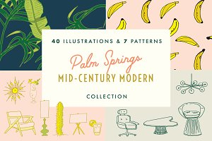 SALE! Palm Springs MidCentury Bundle