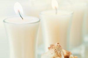 Candles & Seashell