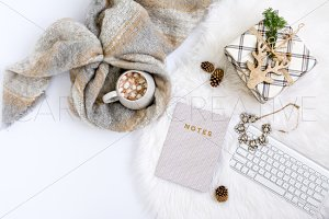 Cozy Christmas Stock Photography
