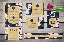 Bloomy - Wedding Invitation Suite
